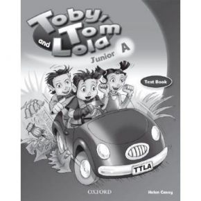 Toby Tom And Lola Junior A - Test Book