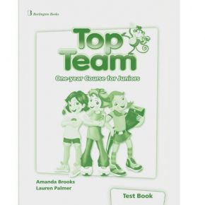 Top Team One Year Course For Juniors - Test Book