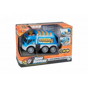 Toy State Road Rippers City Service Fleet Garbage Truck