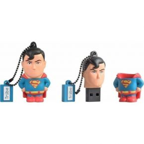 Tribe USB Flash Drive 16GB 2.0 3D Dc Superman