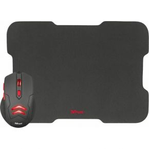 Trust Gaming Mouse Ziva With Mouse Pad