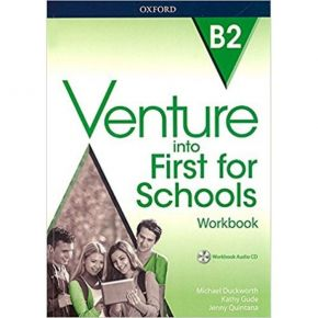 Venture Into First For Schools - Workbook (Without Key+CD)