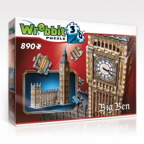 Wrebbit 3D Puzzle Big Ben 890τεμ