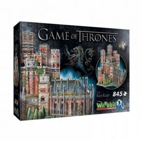 Wrebbit 3D Puzzle Game Of Thrones The Red Keep 845τεμ