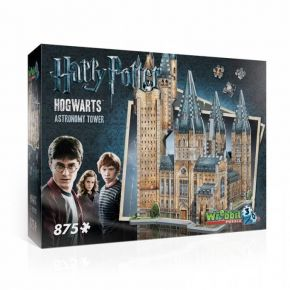 Wrebbit 3D Puzzle Harry Potter Hogwarts Astronomy Tower 875τεμ