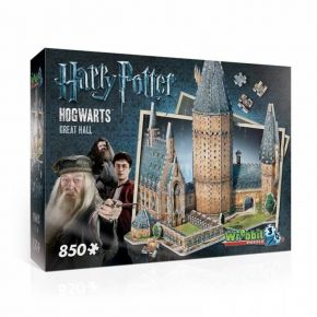 Wrebbit 3D Puzzle Harry Potter Hogwarts Great Hall 850τεμ
