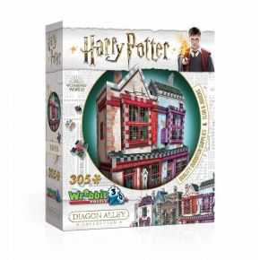Wrebbit 3D Puzzle Harry Potter Quality Quidditch Supplies & Slug & Jiggers 305 τεμ.