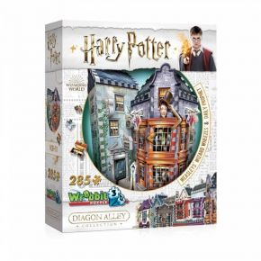 Wrebbit 3D Puzzle Weasley Wizard Wheezes And Daily Prophet (Harry Potter) 285τεμ