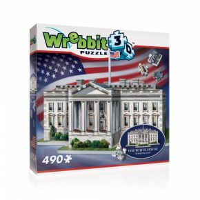 Wrebbit 3D Puzzle White House 490 τεμ.