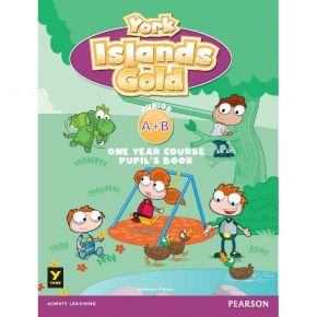 York Islands Gold Junior Α & Β One Year Course - Student's Book (Βιβλίο Μαθητή)