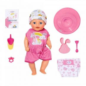 Zapf Κούκλα Baby Born Soft Touch Little Girl
