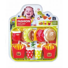 Zita Toys Fashion Small Cultery Fast Food Tray