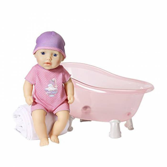 Zapf Σετ Κούκλα Με Μπανιέρα My First Baby Annabell