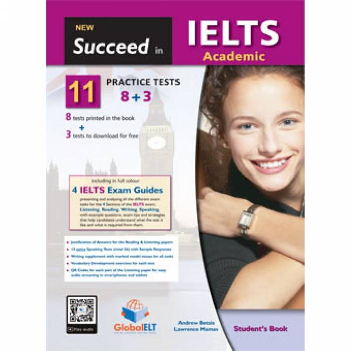 New Succeed In IELTS Academic 11 Practice Test - Student's Book (Βιβλίο Μαθητή)
