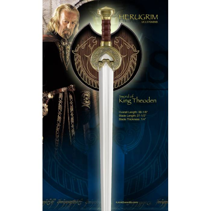 United Cultery Σπαθί Lord Of The Rings Replica Sword Of Theoden