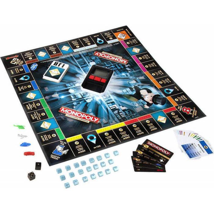 Hasbro Monopoly Ultimate Banking Edition