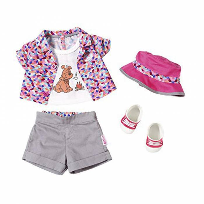 1defd8d8579 Zapf Σετ Ρούχων Camping Outfit Deluxe Baby Born - e-Vafeiadis.gr ...