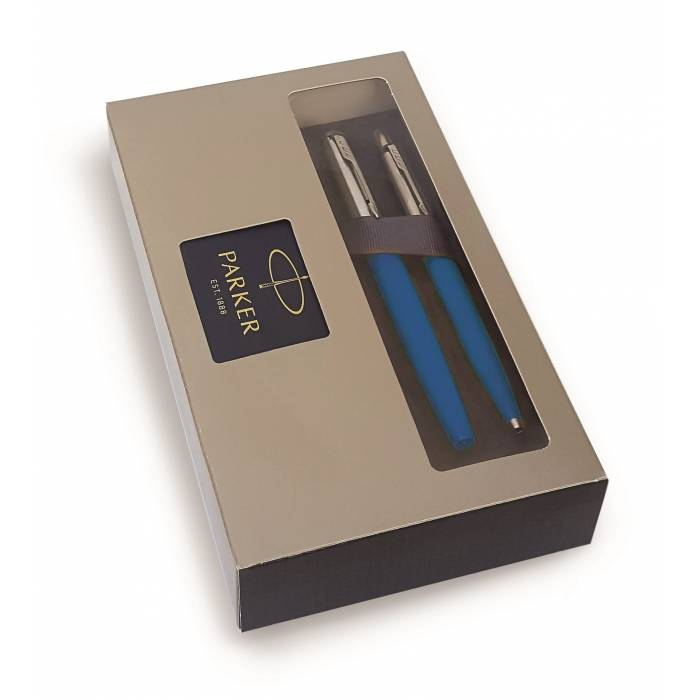Parker Set Κασετίνα Δώρου Στυλό Jotter Originals Light Blue Ballpoint & Roller Ball
