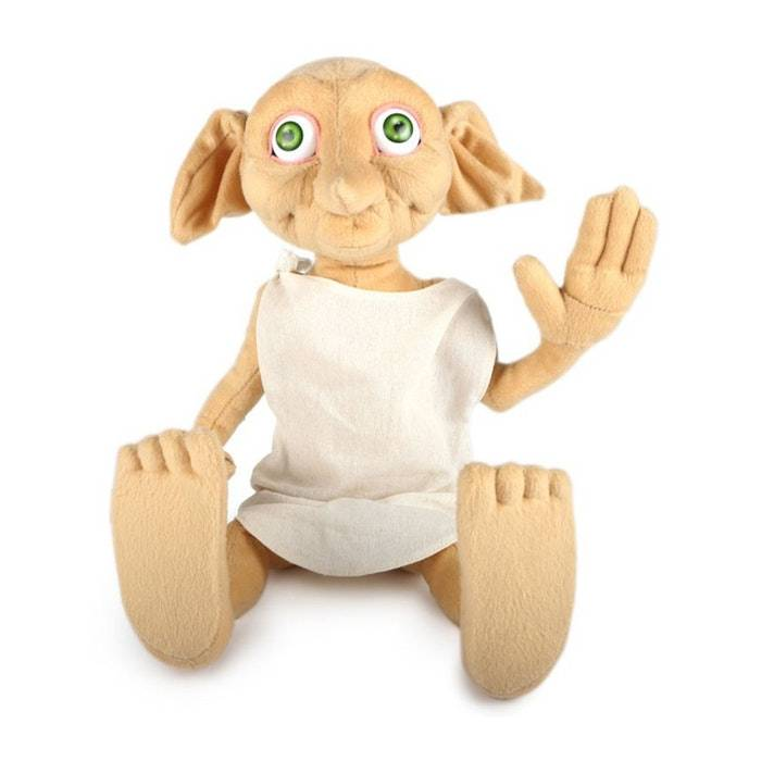 Hollytoon Wow! Stuff Λούτρινο Dobby Με Ήχους (Harry Potter)