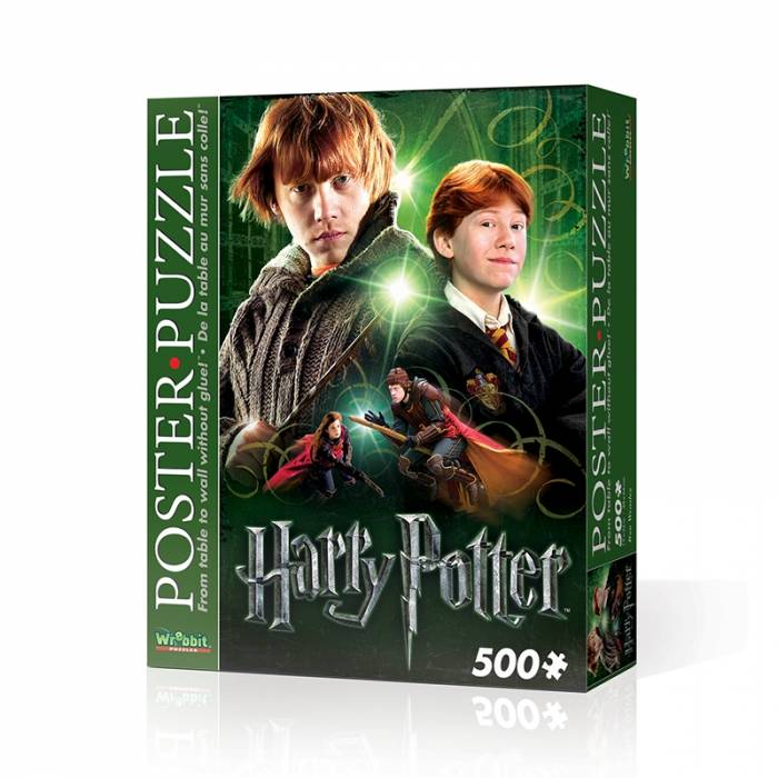 Wrebbit 3D Puzzle Poster Harry Potter Ron Weasley 500τεμ