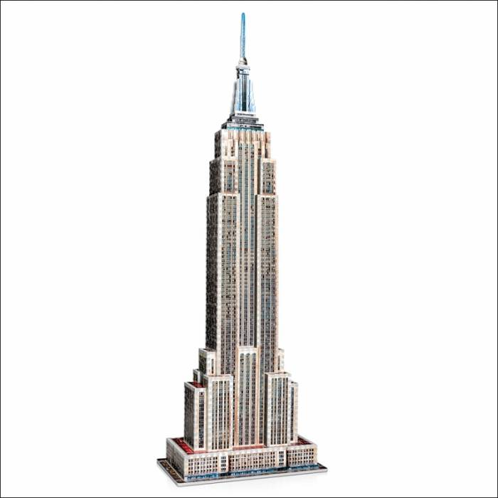 Wrebbit 3D Puzzle Empire State Building 975τεμ