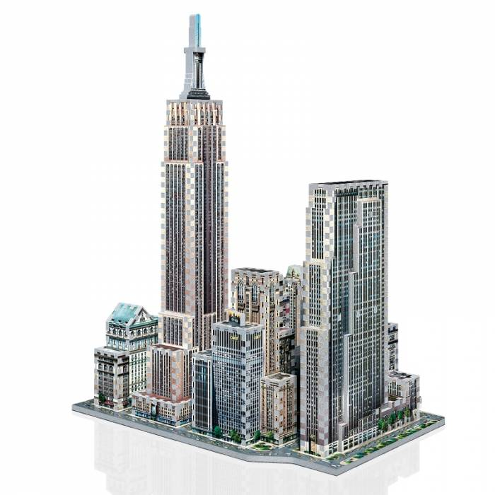 Wrebbit 3D Puzzle Mid Town West New York 900τεμ