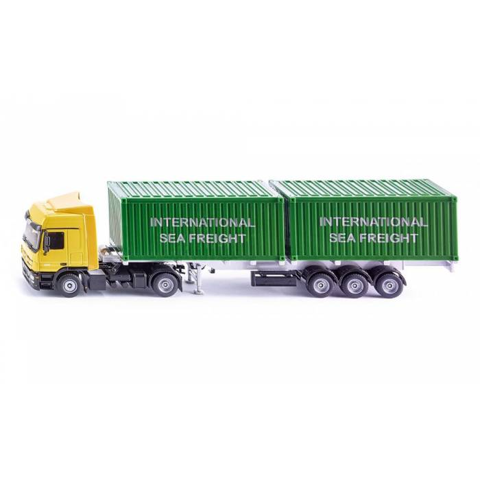 Siku Φορτηγό Mercedes Actros Με Container 1:50