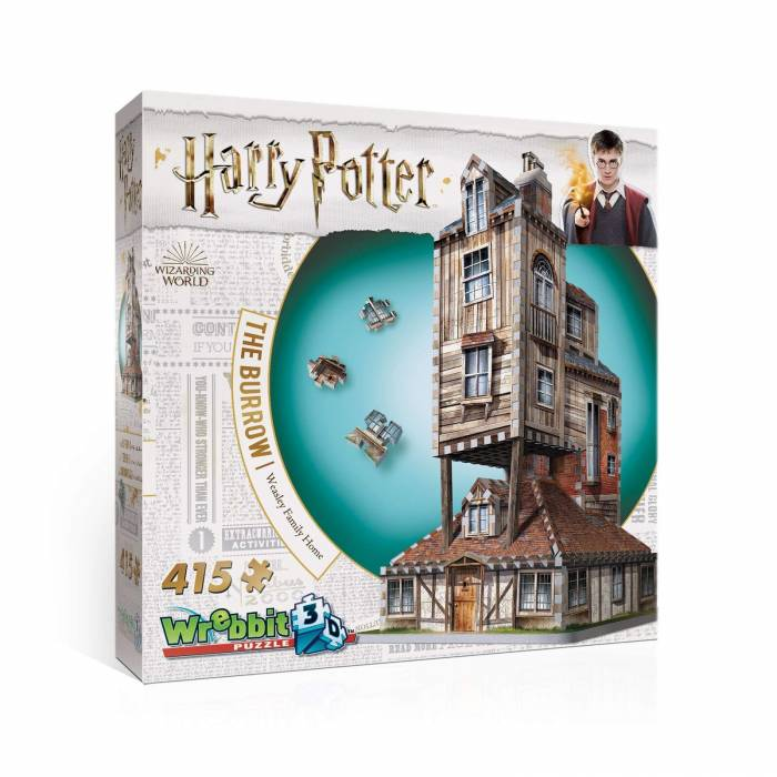 Wrebbit 3D Puzzle Harry Potter The Burrow 415τεμ