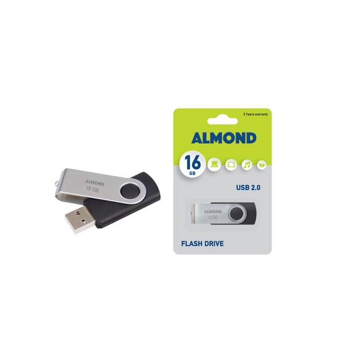Almond 16GB Twister USB Stick 2.0