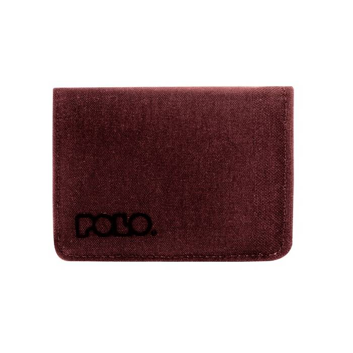 Polo Πορτοφόλι RFiD Protected Small Wallet Jean Red