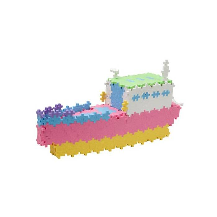 Plus Plus Τουβλάκια Σε Κουτί Pastel Learn To Build 600 Τεμάχια (500 Pastel - 100 Neon)