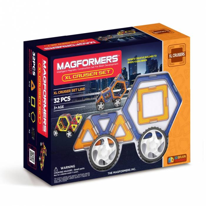 Magformers XL Cruisers Σετ 32 Τεμάχια