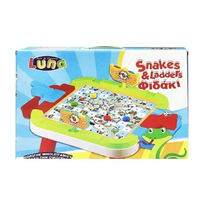 Luna Snakes & Ladders Τραπέζι Φιδάκι