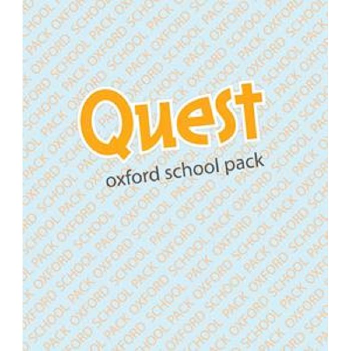 Quest 2 - Full Pack (Student's Book, Workbook, Companion, Grammar) 04973