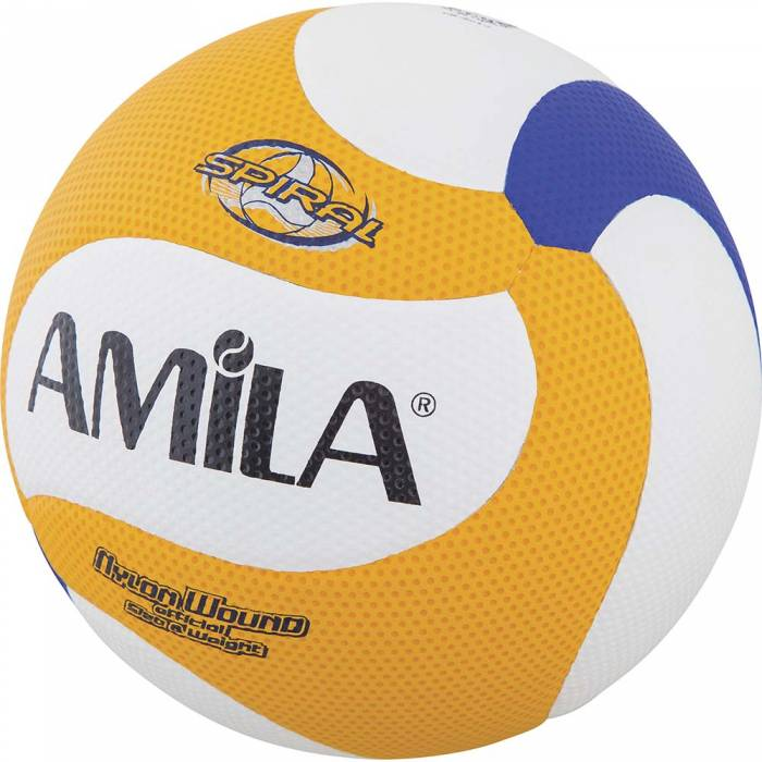Amila Μπάλα Spiral Nylon Wound Volley Ball PU