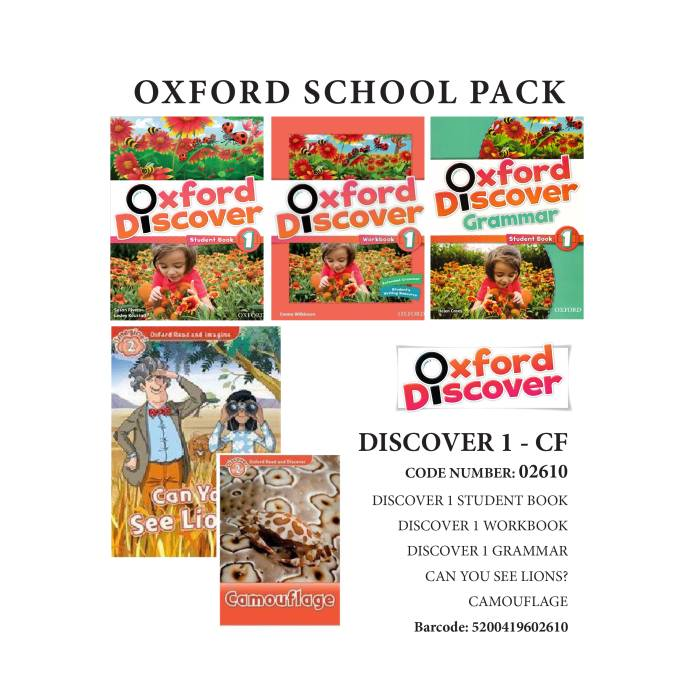 Oxford Discover 1 Pack CF -02610