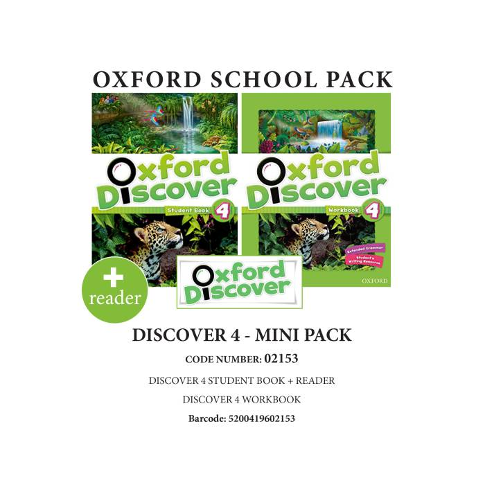 Oxford Discover 4 Mini Pack - 02153