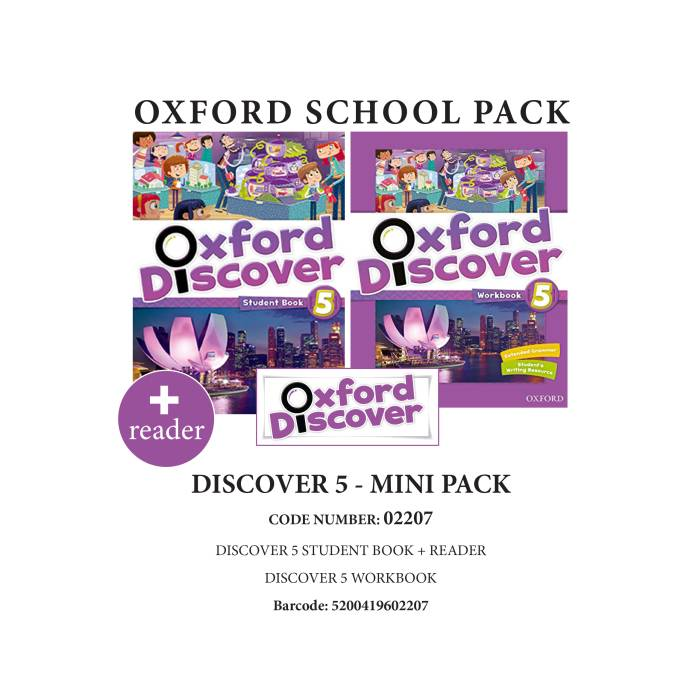Oxford Discover 5 Mini Pack - 02207
