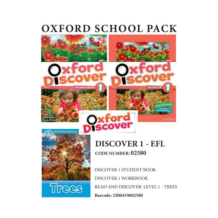 Oxford Discover 1 Pack - EFL - 02580
