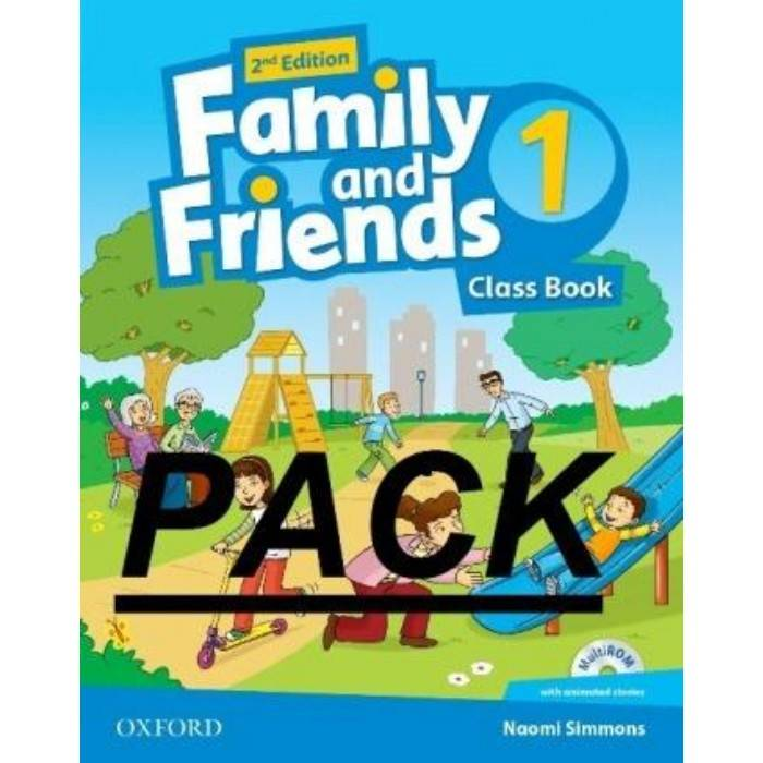 Pack Family and Friends 1 Full Pack