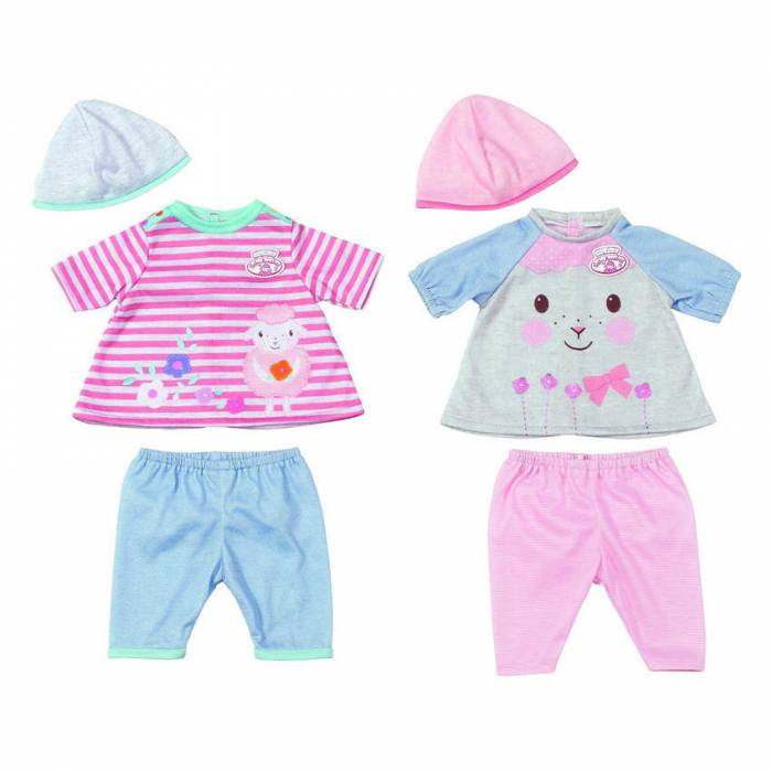 Zapf Σετ Ρούχων Dress For Fun My First Baby Annabell  (2 Σχέδια)
