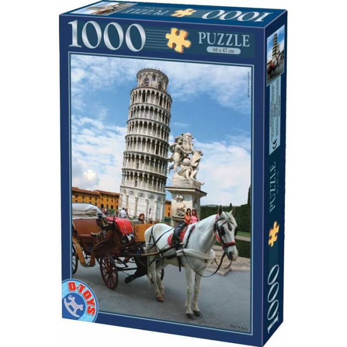 D-Toys Παζλ 1000 τεμ. Tower Of Pisa