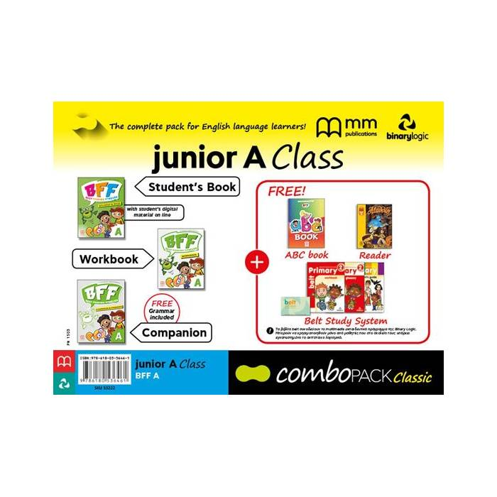 Combo Pack Junior A Class BFF - Best Friends Forever