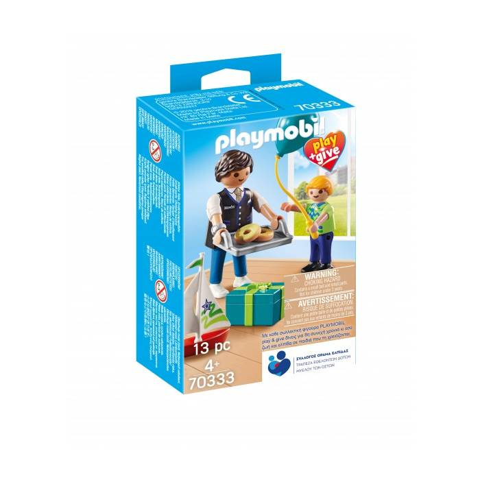 Playmobil 70033 Play & Give Νονός