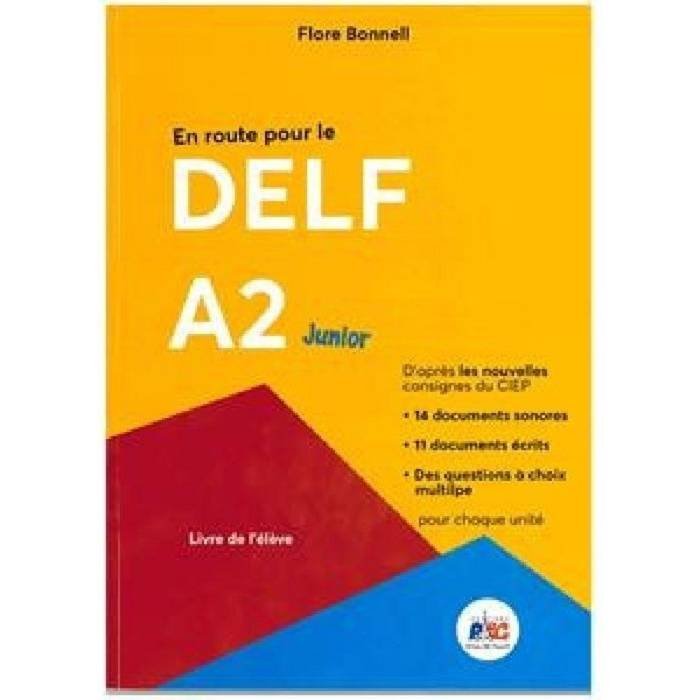 En Route Pour Le Delf A2 Junior (+CD)