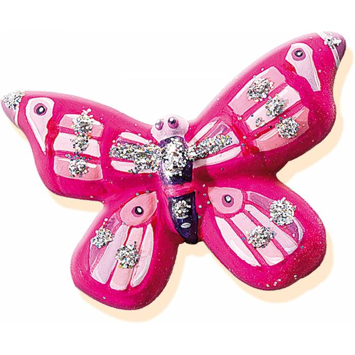 SES Creative Butterfly Glitter Casting And Painting Set