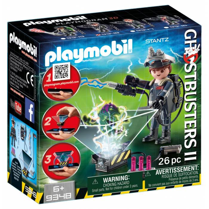 Playmobil 9348 Ghostbuster Ρέι Σταντζ