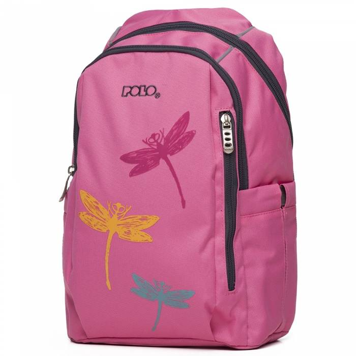 Polo Τσάντα Πλάτης Νηπίου Backpack Toddler Pink 2020