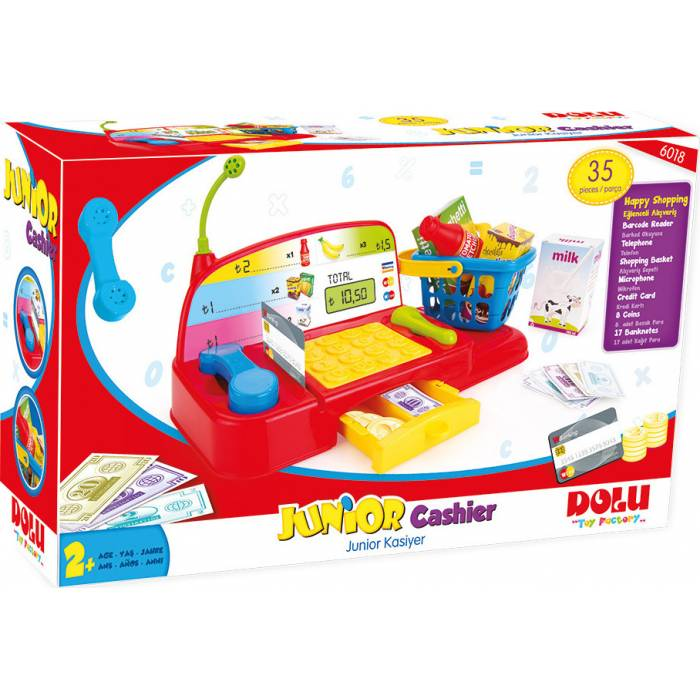 Zita Toys Dolu Junior Cashier Playset