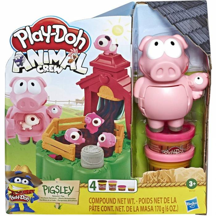 Hasbro Play-Doh Animal Crew Pigsley Spashin Pigs